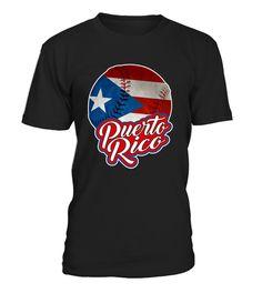 Puerto Rico Baseball Boricua Pride Shirt