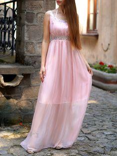 U neck maxi dress outfits
