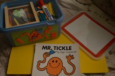 Mr Men Number's Box