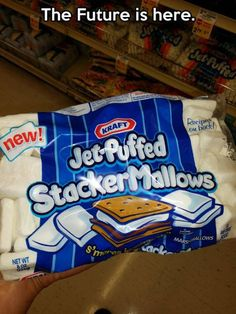 YUM! Marshmallows are successful, no matter the shape.