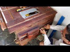 como hacer una sierra de mesa - YouTube