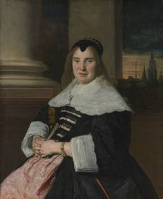 Portrait of a Woman, ca. 1650, reworked probably 18th century  Frans Hals (Dutch, 1582/83–1666)