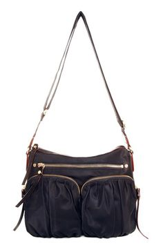 MZ Wallace MZ Wallace 'Paige' Bedford Nylon Crossbody Bag available at #Nordstrom