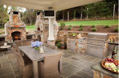 Now this is a patio for entertaining! http://www.houzz.com/photos/6382311/stone-transitional-patio-other-metro