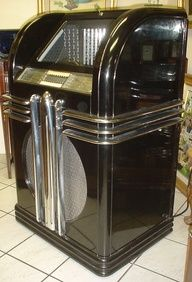 art deco jukebox - Google Search