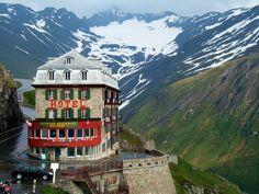 Belvedere Hotel, Rhone Glacier Switzerland