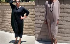 Slouchy Jersey Maxi Dress / Tee Shirt Maxi Dress /  Loose Fitting Pull Over Cotton Knit Kaftan / Lounge / Resort -All Sizes / Colors