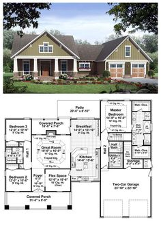 Plan 36092dk craftsman with terrific storage craftsman for Cool house plans craftsman