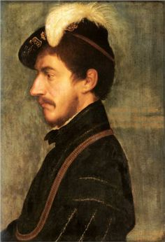 Portrait of Sir Nicholas Poyntz - Hans Holbein the Younger