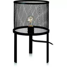 Markslöjd Grid Pöytävalaisin Musta E27 60W IP20  (106055) 25x25x40cm