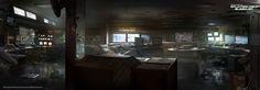 concept art control room - Cerca amb Google