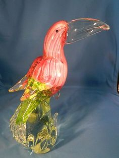 Murano Art Glass cockatoo
