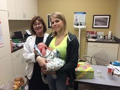 Meet Kelly and 2-week old Jace! Kelly has type 1 diabetes and uses an insulin pump. Jace weighs 7 pounds 14 ounces and both baby and mom are healthy.
