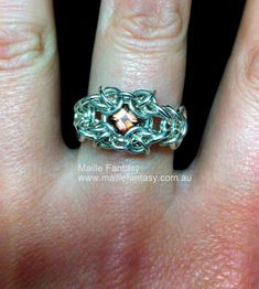 Another beautiful ring from Maille Fantasy !!