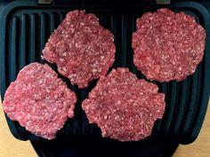 Burger Patties grillen im OptiGrill Sandwich Fillings, Sandwich Recipes, Big Mac, Burger, Low Carb Diet, Keto Recipes, Meal Planning, Meal Prep, Grilling