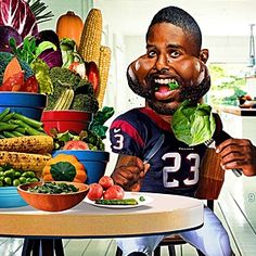 Top Athletes Who are Vegans Top Vegan Athletes Top Celebrities Who are Vegan Vegans are NOT Weak Vegans are NOT Protein deficient Vegans are NOT Stupid Vegans are NOT Unhealthy Vegans are NOT Attention-seekers Nutrition Resources, Diets For Beginners, Football Food, Plant Based Diet, Going Vegan, Arian Foster, Nfl, Attention Seekers, Men's Journal