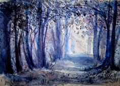 Fine Art and You: Beautiful Watercolor Landscape Paintings by Anna Armona