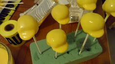 Details about making these cake pops :)