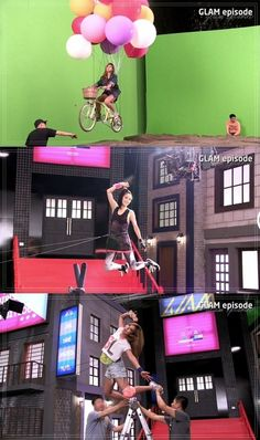 """GLAM releases making-of clip for wire action scenes in """"Party (XXO)"""" MV"""