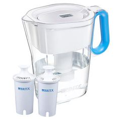 Brita Wave Pitcher with 2 Advanced Filters - Assorted Colors Available
