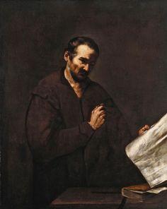The Astrologer Jusepe de Ribera (1591-1652) c. 1620-50