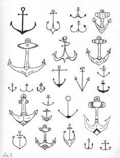 237 Mejores Imágenes De Tatuaje De Ancla En 2019 Anchor Tattoos