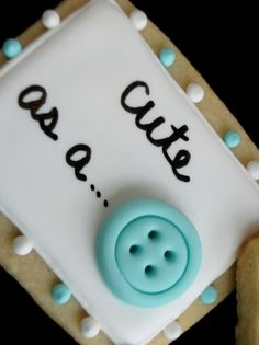 How to make simple buttons out of fondant - no special mold required http://bakeat350.blogspot.com/2010/06/for-little-dudes.html