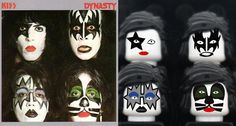 KISS - LEGO Album Covers