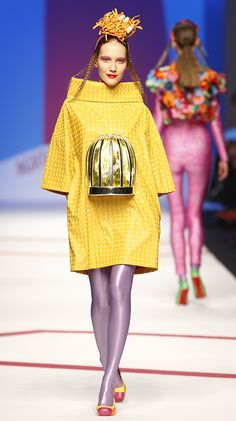 MILAN OI 09 10 – AGATHA RUIZ DE LA PRADA #surrealism #fashion #art #fun #funky #colour #color #popart #agatharuizdelaprada