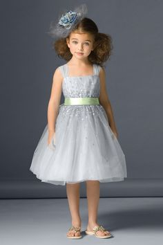 Seahorse Flower Girl Dress.