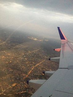 A beautiful view of my city Nagpur through the air..