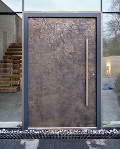 Door Gallery - Urban Front - Contemporary Front Doors UK - September 14 2019 at Contemporary Front Doors, Modern Front Door, Front Door Design, Front Entry, Asian Front Doors, Modern Door Design, Entrance Design, Window Design, Modern Contemporary