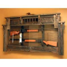 Hunter's Retreat Gun Display Cabinet - SaddleBack Western