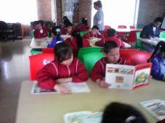 visita biblioteca publica, incentivando el amor por la lectura
