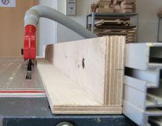 Zusatzanschlag für die Tischkreissäge -  Ein einfacher Holzwinkel - Erika