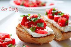 Przepis na smaczną kanapkę z ciabatty i sera białego. Ser biały - przepisy