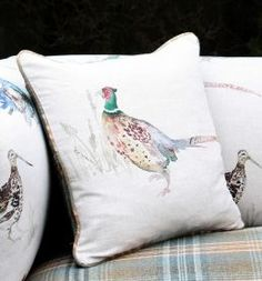Create a piped cushion cover! http://www.justfabrics.co.uk/howto/how-to-make-a-piped-cushion-cover/