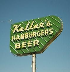 Nostalgia on a Poppy Seed Bun at Keller's Drive-In