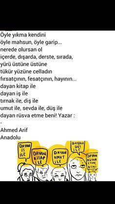 Öyle yıkma kendini  Öyle mahzun, öyle garip Ahmed Arif