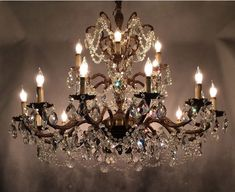 Excited to share this item from my #etsy shop: US Seller. 50x40cm Vintage Inspired Stunning Crystal Chandelier . DIY, Diamond Painting Kit Full Drill Round drills. Fast S&H