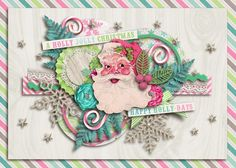 Created our Christmas card this year using Holly Jolly Christmas by Studio Flergs and Litabells Designs