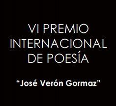 """VI Premio Internacional de Poesía """"José Verón Gormaz"""" – 5.000 euros"""