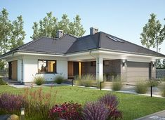 House Plans Mansion, Dream Mansion, Bungalow House Design, Modern House Design, Modern Family House, House Design Pictures, Spanish Style Homes, Home Design Plans, Home Fashion