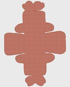 En Varios Colores y Texturas: Cajas con Cierre en forma de Mariposa para Imprimir Gratis.