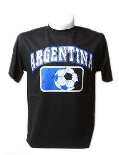 22fc17d16 Argentina Soccer Cotton T Shirt World Shirts