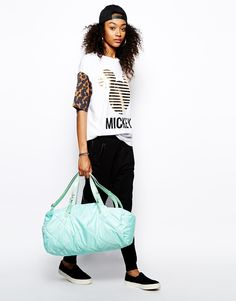 ASOS Quilted Nylon Carryall