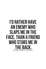 Image result for backstabbing friends quotes