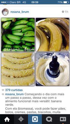 Foto biomassa de banana verde