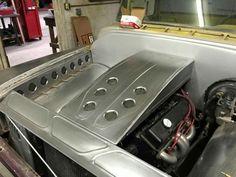 Custom engine bay and inner fenders: