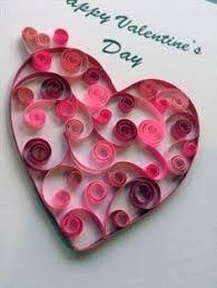 Quilling: Paper craft lends elegance to Valentine's cards Paper Quilling Designs, Quilling Paper Craft, Quilling Patterns, Valentines Bricolage, Valentine Day Crafts, Valentine's Day Paper Crafts, Diy Gifts Love, Kids Crafts, Saint Valentin Diy